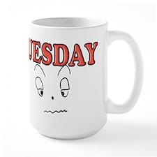 Tuesday funny face Mugs