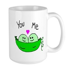peas in a pod.PNG Mugs