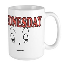 Wednesday funny face Mugs