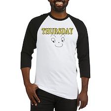 Thursday funny face Baseball Jersey