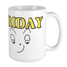 Friday funny face Mugs