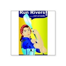Rosie the River Runner Sticker