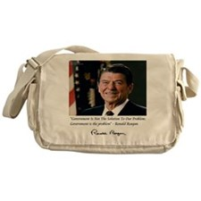 Reagan Govt Is Problem Messenger Bag