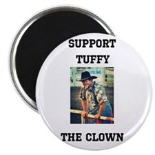 Support Tuffy The Clown Magnets