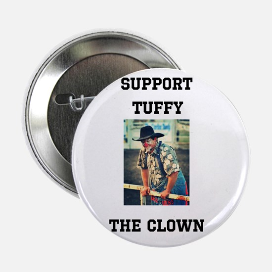 Support Tuffy The Clown 2.25&Quot; Button