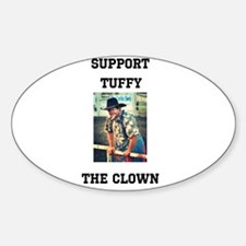 Support Tuffy The Clown Decal