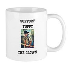 Support Tuffy The Clown Mugs