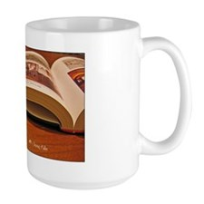 Open Book With Quote Mugs