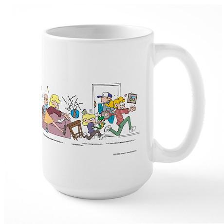 Large Foxtrot Chaos Mug