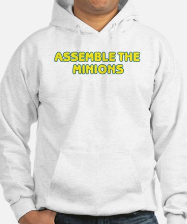 ASSEMBLE THE MINIONS Jumper Hoody