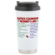 Cute Bluetick coonhounds Travel Mug