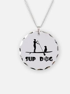 SUP Dog Sitting Necklace