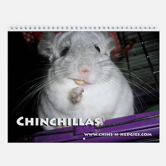 Chinchilla Wall Calendar