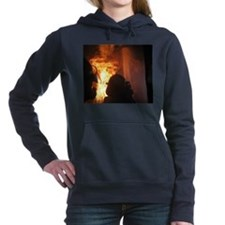 Firefighter Flashover Women's Hooded Sweatshirt