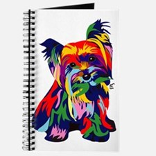 Bright Rainbow Yorkie Journal
