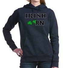 Irish Nurse RN Hooded Sweatshirt