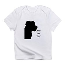 where theres a will theres a wag Infant T-Shirt