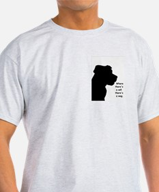 where theres a will theres a wag T-Shirt