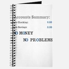 No money No problems Journal