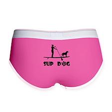 SUP Dog Standing Women's Boy Brief