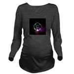 Mystic Prisms - Clover - Long Sleeve Maternity T-S