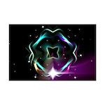 Mystic Prisms - Clover - Mini Poster Print