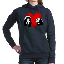 Panda Bear Love Hooded Sweatshirt