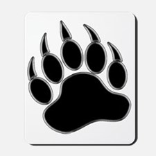 GAY BEAR PRIDE Gay Bear Paw Mousepad