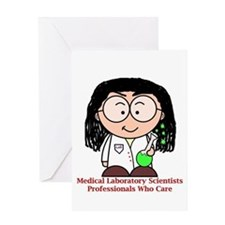 Medical Laboratory Professionals Greeting Cards