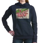 Pink Tulips In Bloom Hooded Sweatshirt