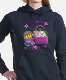 Daddys Girl Easter Basket Chick Hooded Sweatshirt