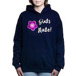 Girls Rule Women's Hooded Sweatshirt