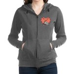 Medical Symbol Caduceus Zip Hoodie