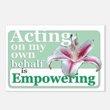 Empowering Lily Postcards (Package of 8)