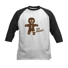Oh Snap Gingerbread Baseball Jersey