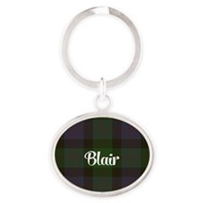 Blair Tartan Oval Keychain