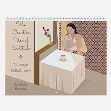 Book Lovers Calendar By Nancy Vala