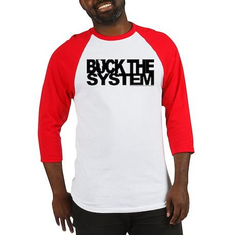 Buck The System Baseball Jersey