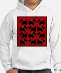 Scotties with bows Hoodie