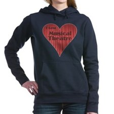 ilovemusicaltheatre.png Hooded Sweatshirt