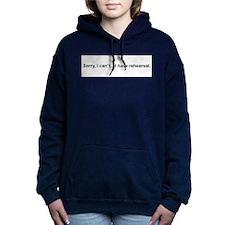 sorryicantbumper.png Hooded Sweatshirt