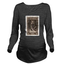 shakespearestamp.png Long Sleeve Maternity T-Shirt