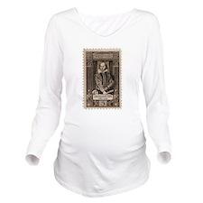 shakespearestamp.png Long Sleeve Maternity T-Shirt