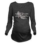gingerrogers2.png Long Sleeve Maternity T-Shirt