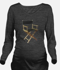 directorchair.png Long Sleeve Maternity T-Shirt