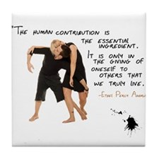 The Human Connection Tile Coaster