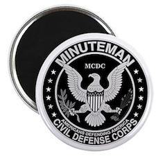 Minuteman Civil Defense Magnet