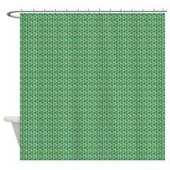Camo Escher Quincys Shower Curtain