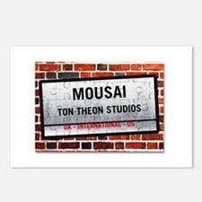 Mousai Ton Theon Studios Postcards (Package of 8)