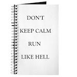 Don't Keep Calm Journal